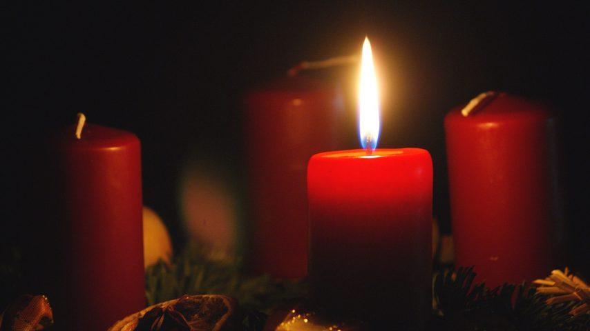 Adventskranz 1. Advent